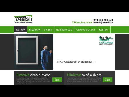 www.remsli.sk