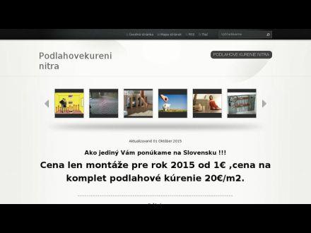 www.podlahovekurenie-nitra.webnode.sk