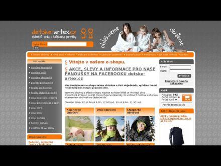 www.detske-artex.cz