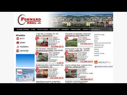 www.forwardreal.sk