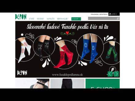 www.bepon.sk
