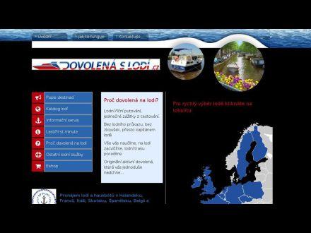 www.dovolenaslodi.cz
