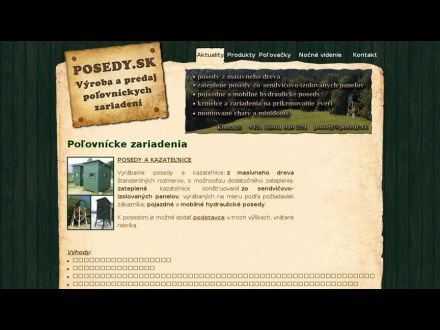 www.posedy.sk