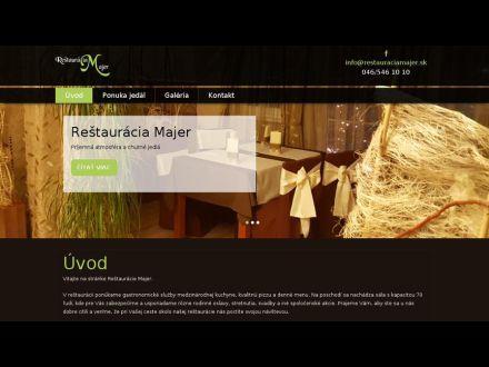 www.restauraciamajer.sk
