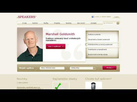 www.speakers.sk