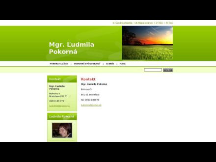 www.psychologludmilapokorna.sk