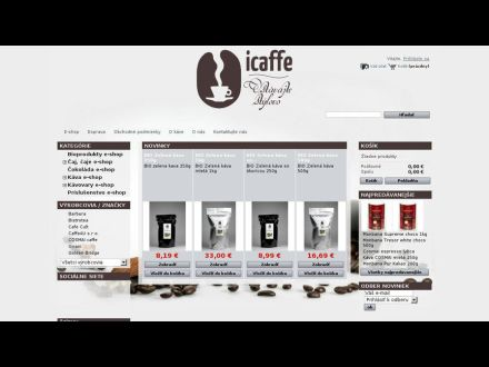 www.icaffe.sk