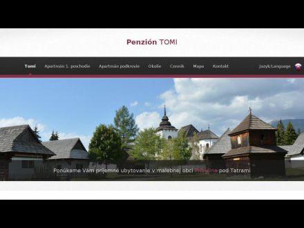 www.penziontomi.sk