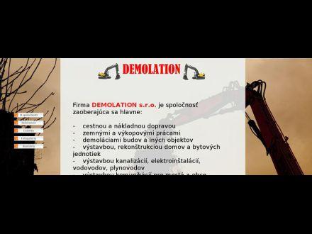 www.demolation.sk