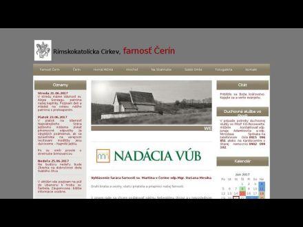 www.cerin.fara.sk