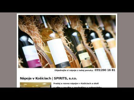 www.spiritsnapoje.sk