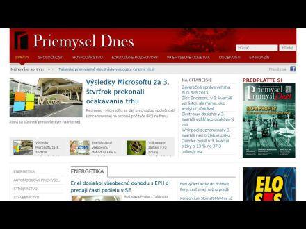www.priemyseldnes.sk