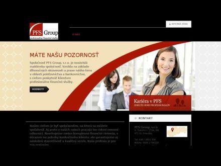 www.pfsgroup.sk