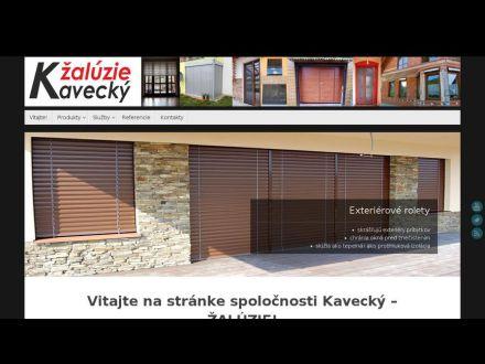 www.zaluziekavecky.sk