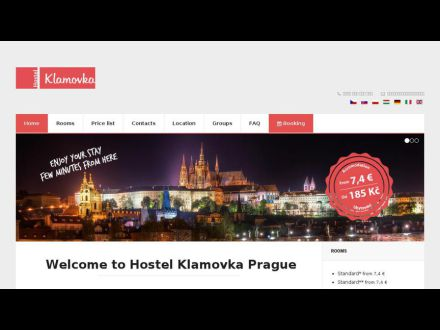 www.hostel-klamovka.com/
