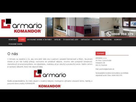 www.armario.sk
