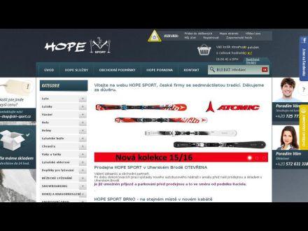 www.hope-sport.cz