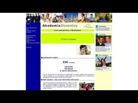 www.akademiaslovenciny.sk