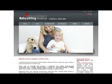 www.babysittingkosice.sk