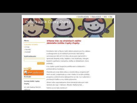 www.detsky-kutik-cupky-dupky.sk