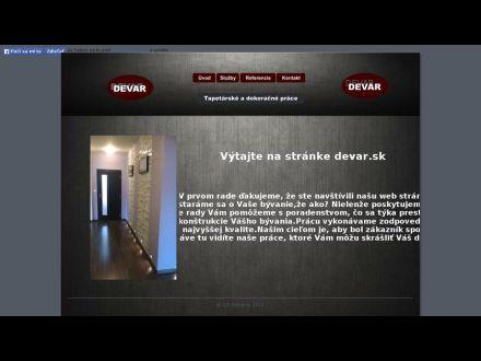 www.devar.sk