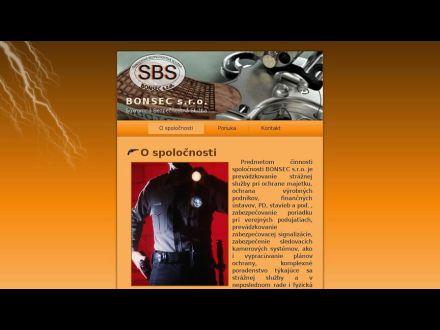 www.bonsec.sk