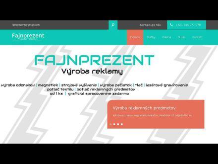 www.fajnprezent.sk