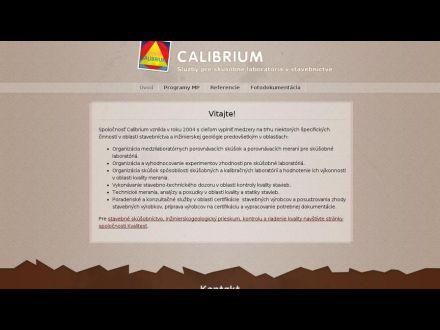 www.calibrium.sk