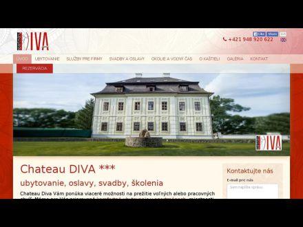 www.chateaudiva.sk