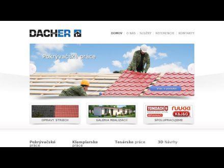 www.dacher.sk