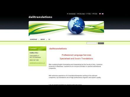 www.dalitranslations.sk