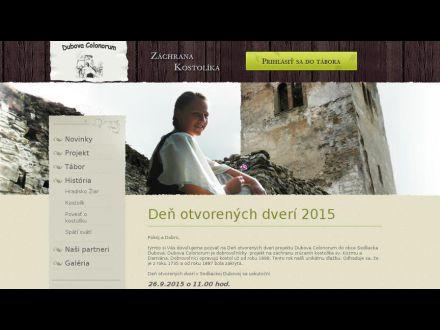 www.dubovakostolik.sk