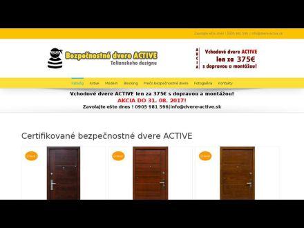 www.dvere-active.sk