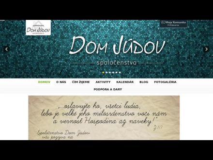 www.domjudov.sk