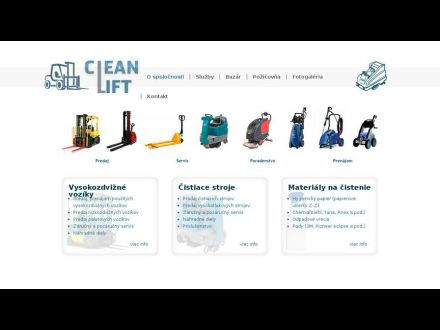 www.cleanlift.sk
