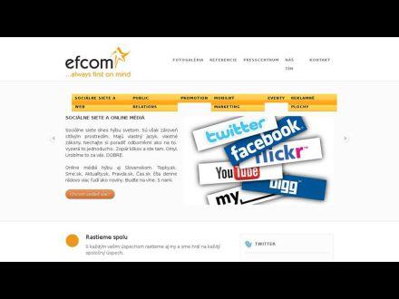 www.efcom.sk