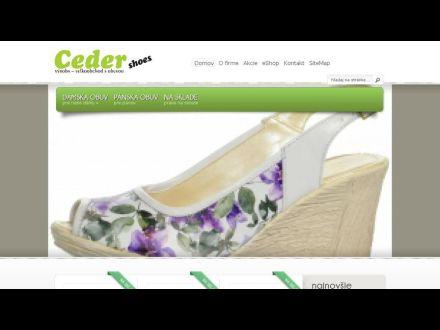 www.cedershoes.sk