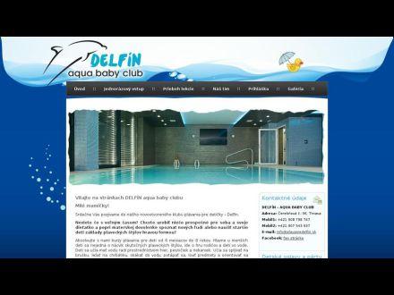 www.plavaniedelfin.sk
