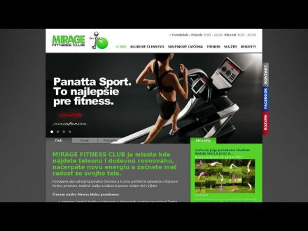 www.fitmirage.sk