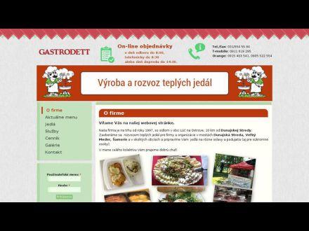 www.gastrodett.sk