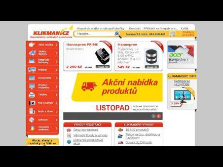 www.klikman.cz