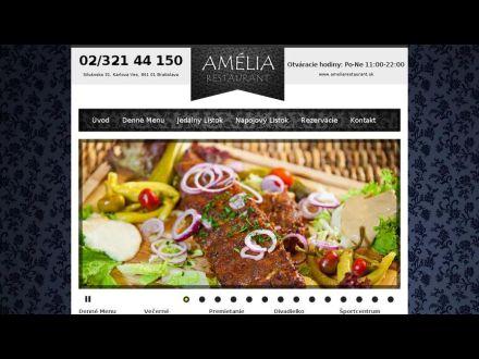 www.ameliarestaurant.sk