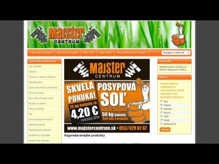 www.majstercentrum.sk