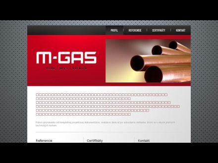 www.m-gas.sk
