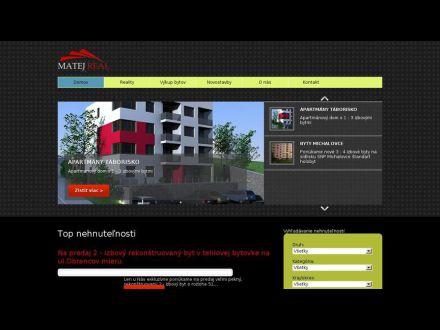 www.matejreal.sk