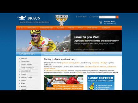 www.pohary-medaile-braun.cz