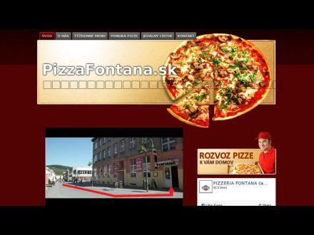 www.pizzafontana.sk