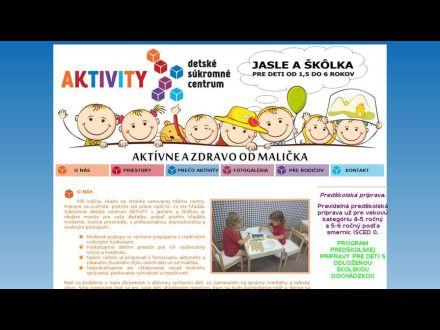 www.dcaktivity.sk