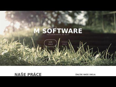 www.msoftware.sk