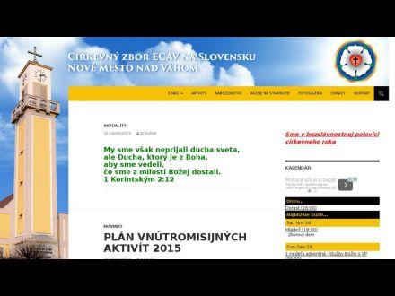 www.ecavnm.sk
